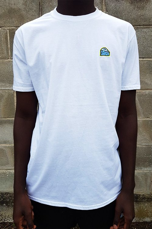 Bluecheese Basic Tee Front White