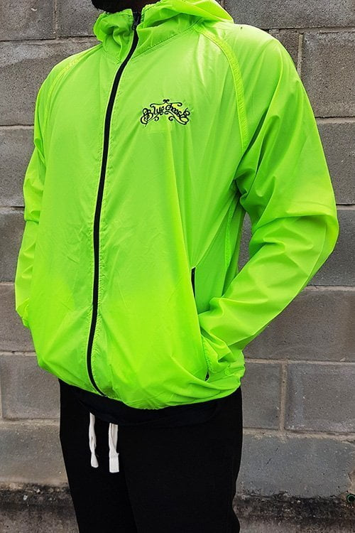 Lime Green BlueCheese Windbreaker Jacket
