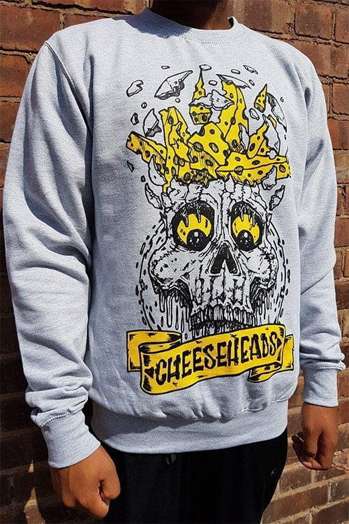BlueCheese Cheese Heads Long Sleeve Tee Side