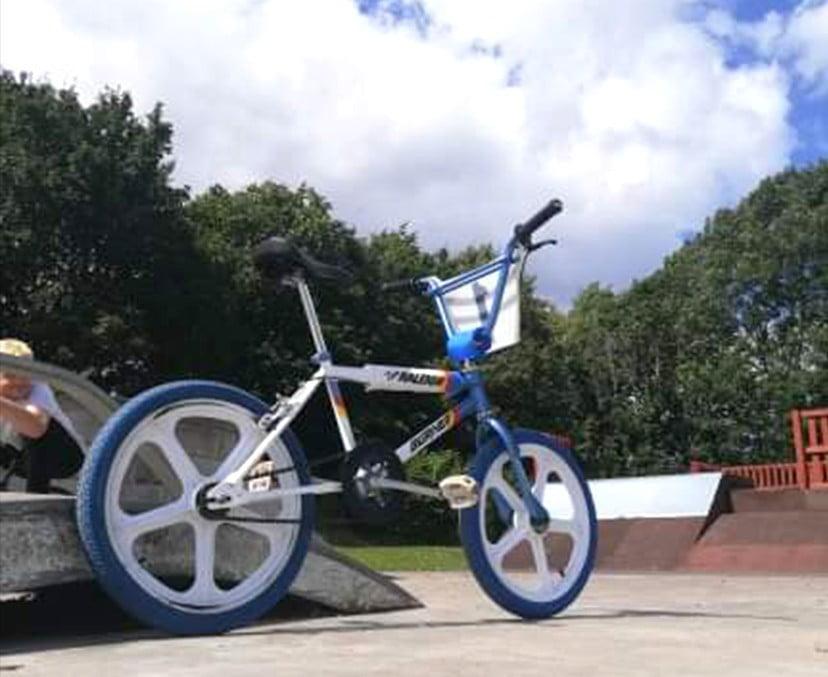 Dans Classic Bikes Raleigh Bmx Bike Mk3 Rsw