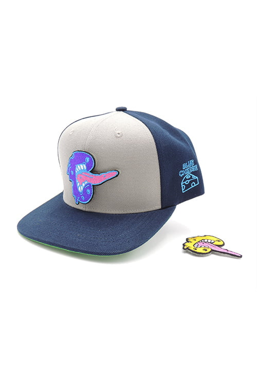 Limited Edition Velcro Double Patch Cheese Bite Snapback