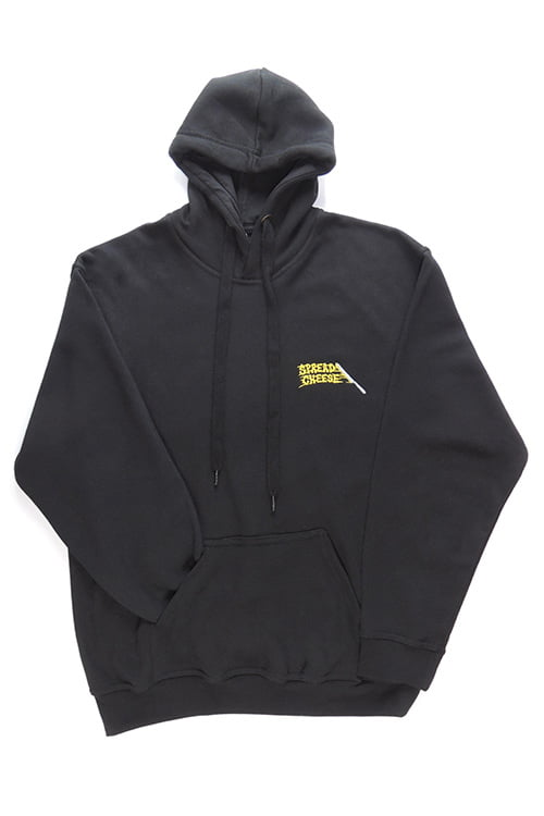 cheese spread hoodie