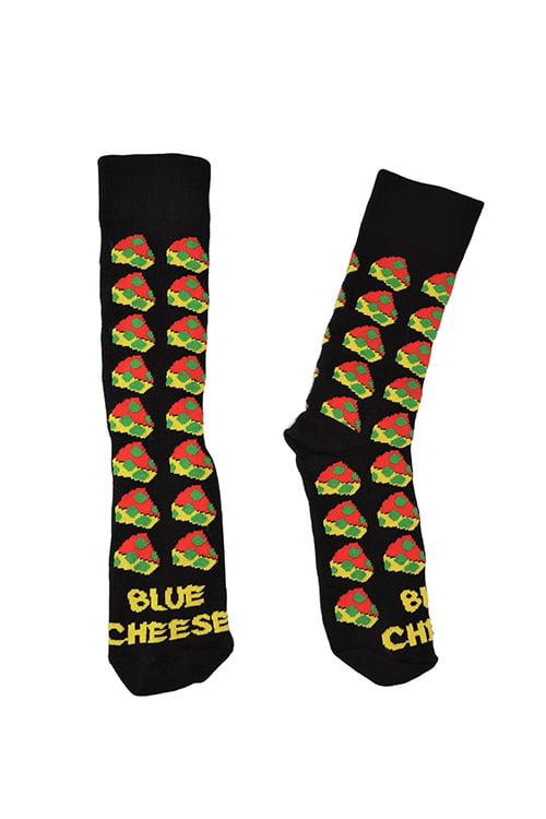Reggae Cheese Socks